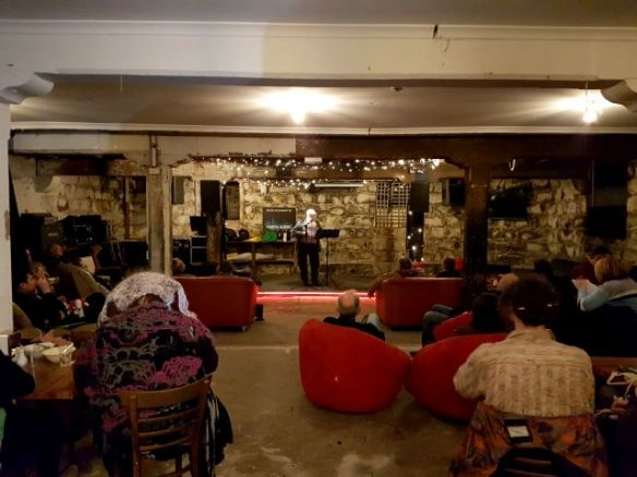 Craig Coulson at Words Out Loud June 2018