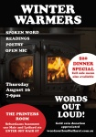 Winter warmers theme for august words out loud
