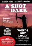 words out loud ballarat july 2019 event poster
