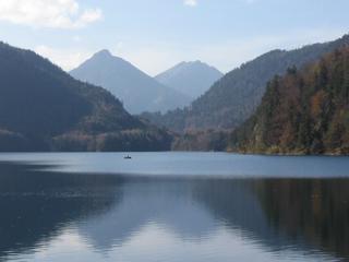 Lake Alpsee near Neuschwanstein Castle. Picture: Earl Livings